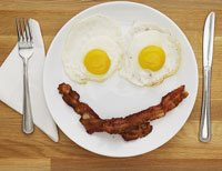 Bacon and Eggs are part of a ketogenic diet