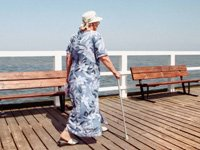 DISC high blood pressure hinders walking
