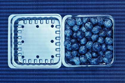 Foods that lower high blood pressure - blueberries