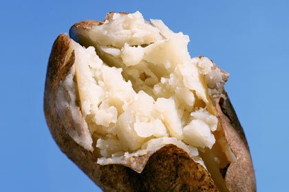 Foods that lower high blood pressure - baked potato