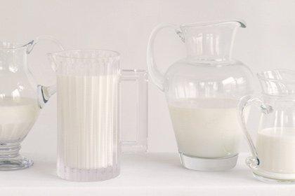 Foods that lower high blood pressure - skim milk