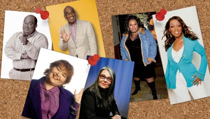 Bariatric surgery to lose weight. Before and after pictures of Al Roker, Roseanne Barr and Star Jones.