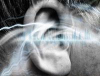 Closeup of a male ear-tinnitus ringing in the ears treatments