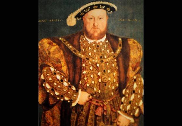 Celebridades con la enfermedad de gota - Henry VIII