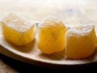 Jengibre cristalizado - Trivia remedios caseros comprobados