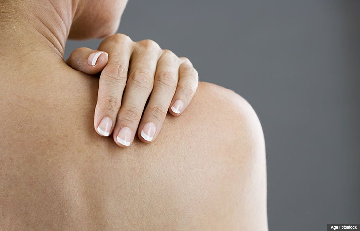What is the standard treatment for arm pain?