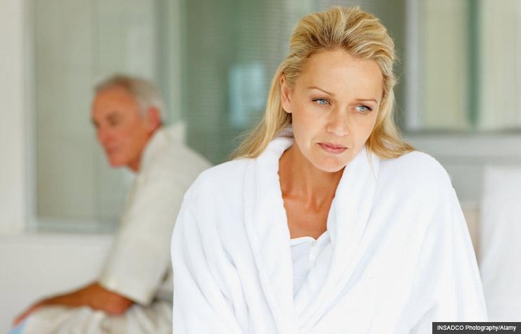 old ladies feeling pain in sex