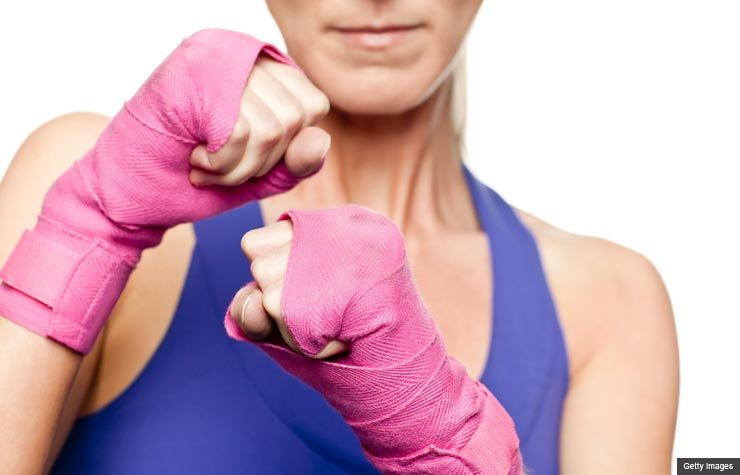 Fighting for Breast Cancer Awareness (Getty Images)