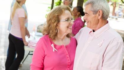 Sobreviviente de cáncer de mama y su esposo - Cómo los esposos afrontan el cáncer de mama