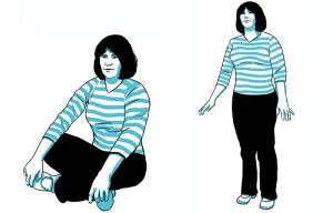 Informe sobre la salud: Pruebas sorprendentes para una buena salud, sentarse y ponerse de pie