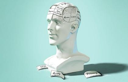 Busto de un hombre con el cerebro dividido en partes - Déficit de Atención en adultos - Síntomas, tratamiento y consecuencias