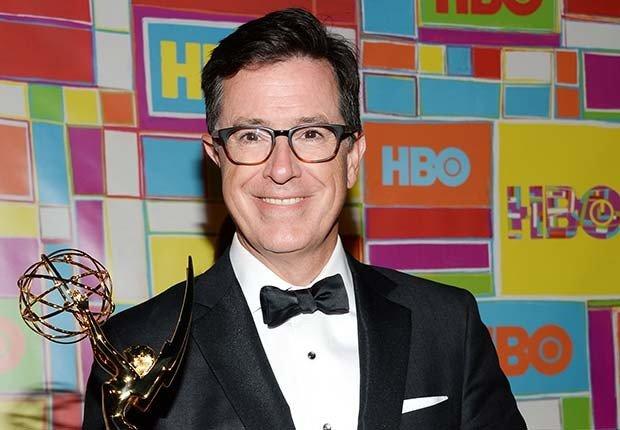 Stephen Colbert - Celebridades famosa con la pérdida de audición