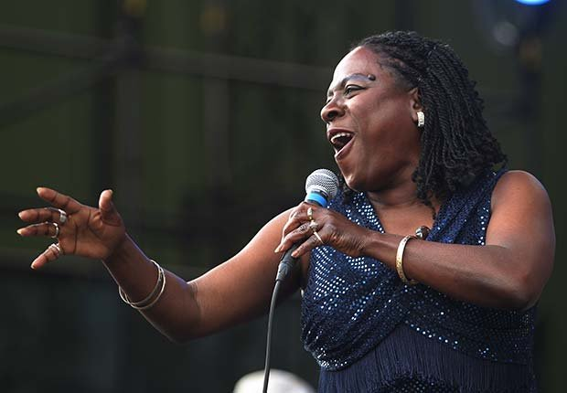 Celebrities Who Beat Cancer Sharon Jones