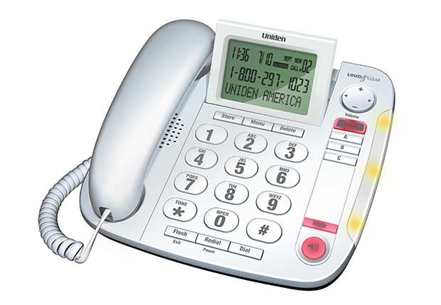 Cool Household Hearing Devices Impaired Uniden Phone ESP