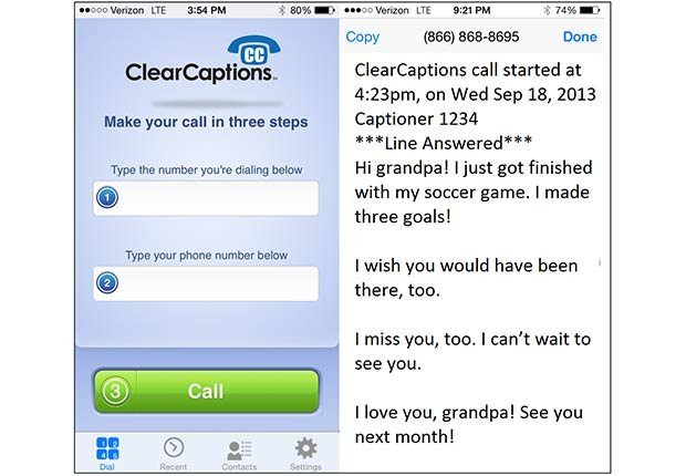 Cool Household Hearing Devices Impaired Clear Captions App ESP
