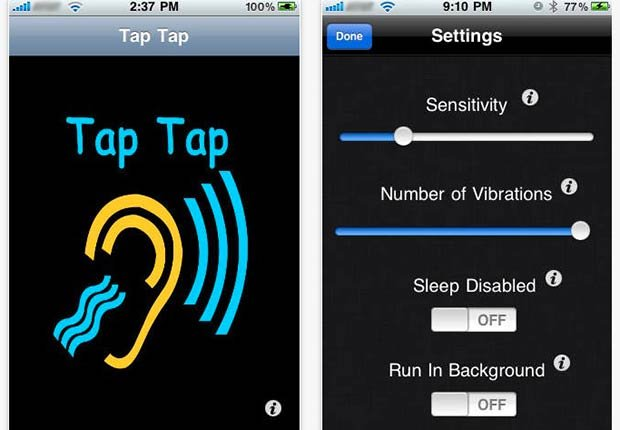Cool Household Hearing Devices Impaired Tap Tap App ESP