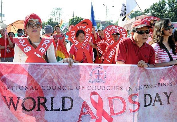 Demostración - Día Mundial del SIDA