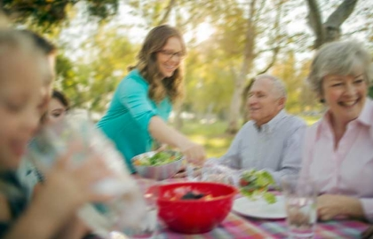 Blurred Vision Stroke Symptom Family Dinner