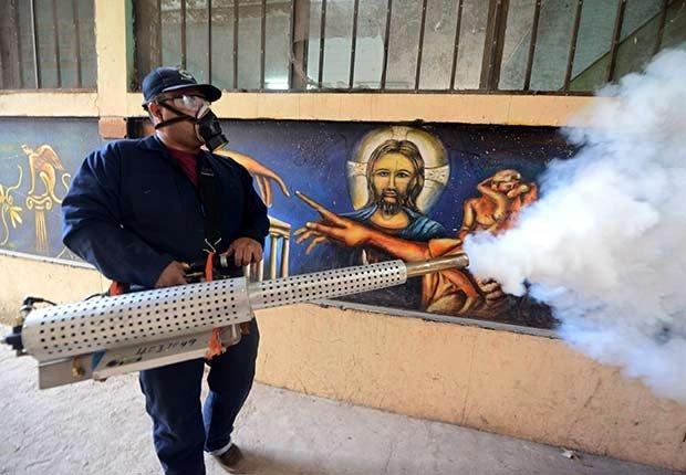 Epidemics 21 Century Dengue Fever Spray Mosquitos Spread Disease ESP