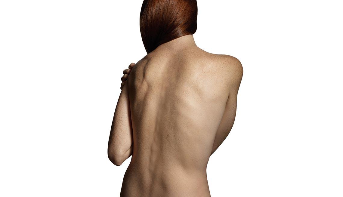 Female's back for Chronic Pain