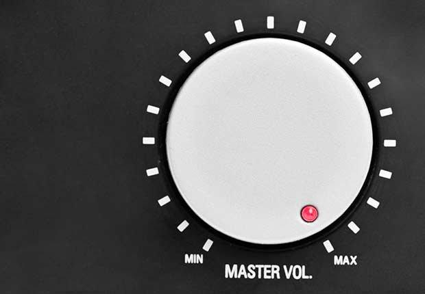 Manija para el volumen - Pérdida auditiva por ruido