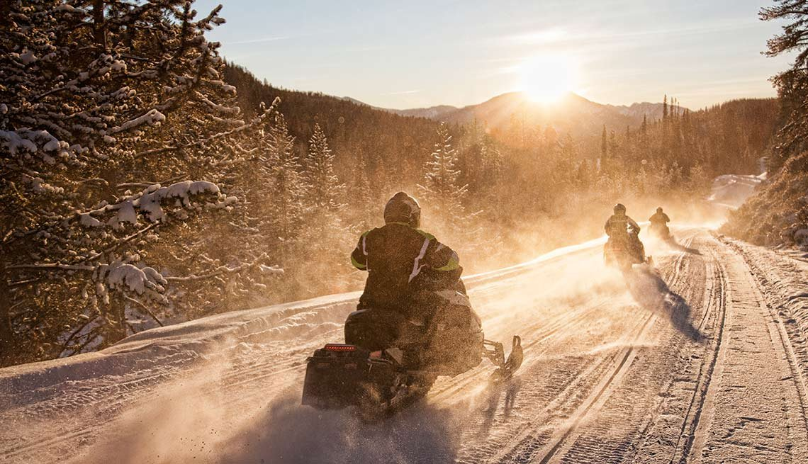 Activities That Harm Hearing Snowmobile