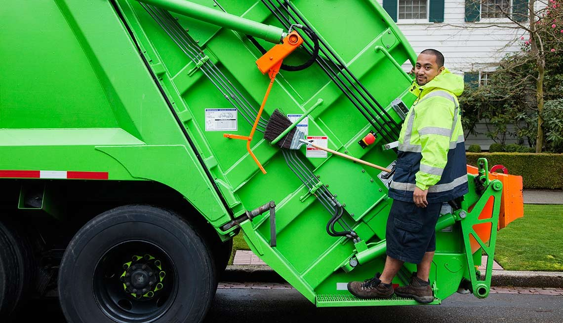 Activities That Harm Hearing Garbage Trash Truck