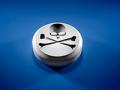 Una píldora con el signo de muerte - Sobredosis de analgésicos