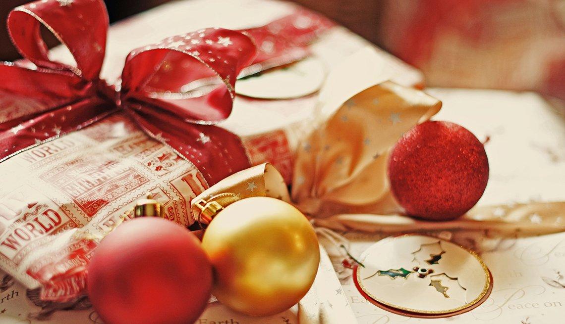 Regalo y decoración de navidad