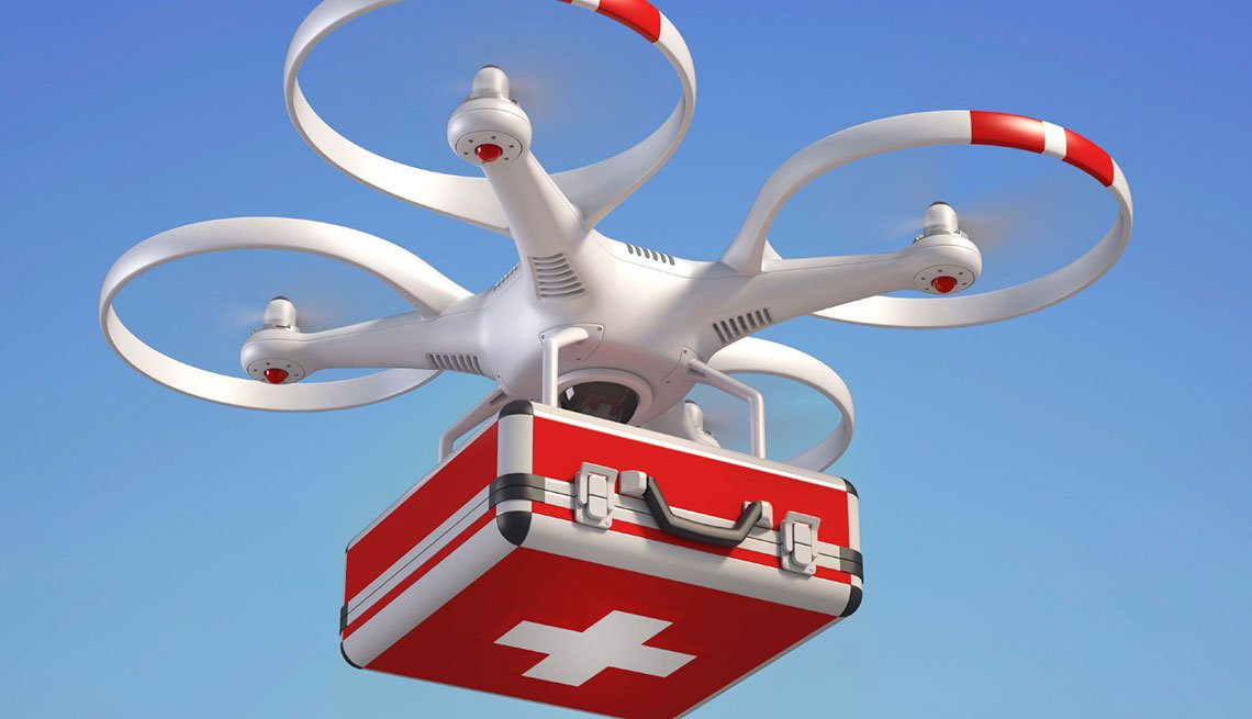 First aid drone