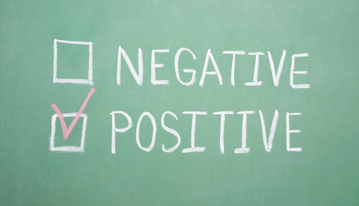positive and negative checklist