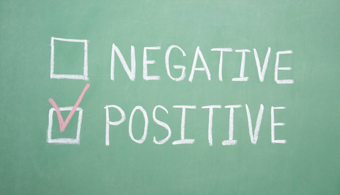 positive and negative checklist