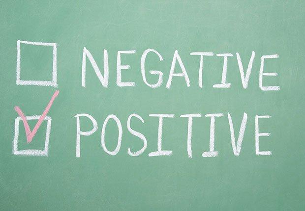 Negativo y positivo