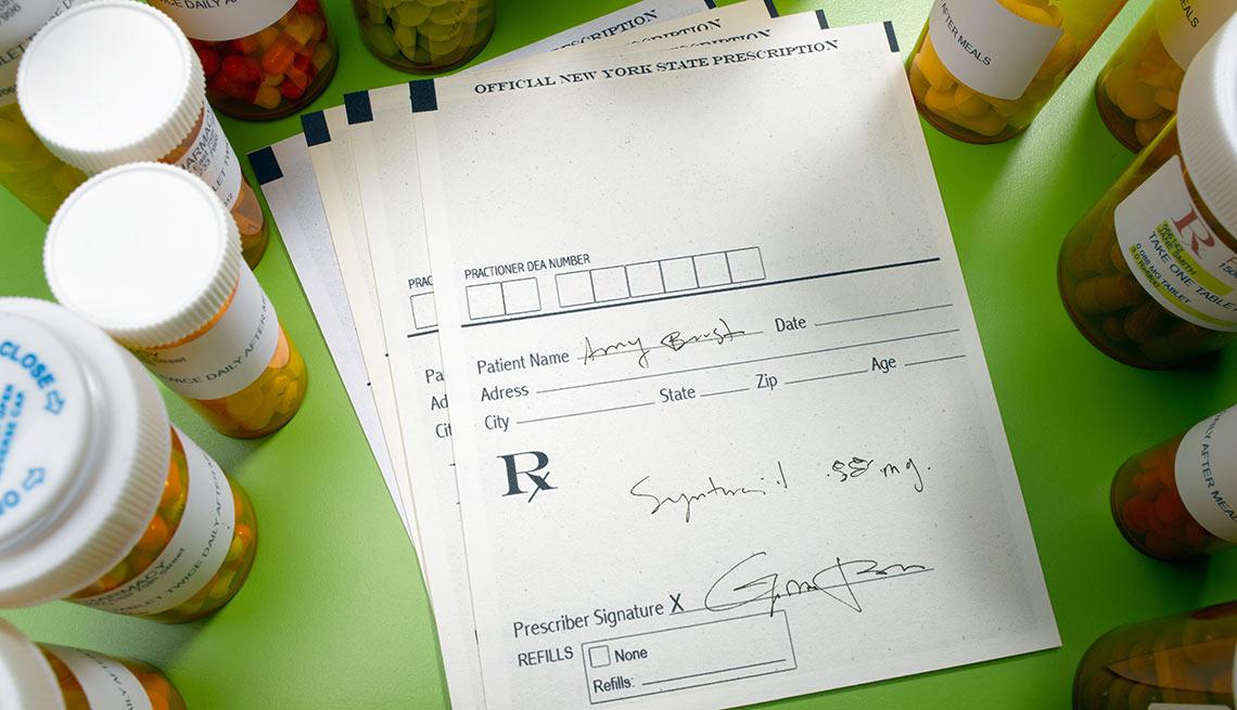Medications surround prescriptions, Top 10 Medicare Mistakes
