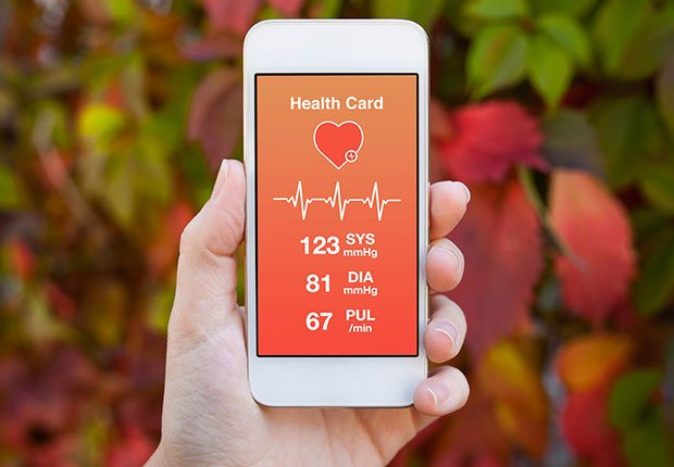 Aplicación de teléfono para cuidar la salud - Futuro de la medicina
