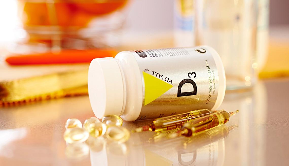 Suplementos de vitamina D