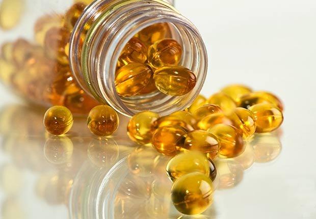 Píldoras de aceite de pescado