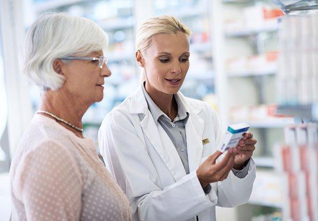 Consulta con un farmacéutico