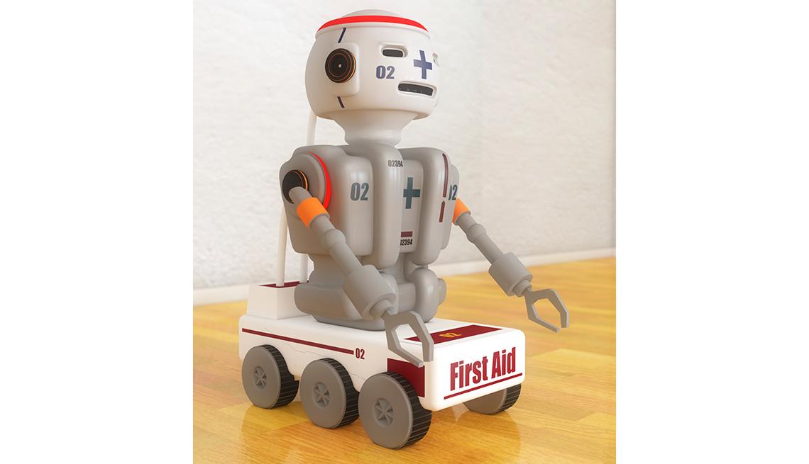 Robot para atender emergencias médicas