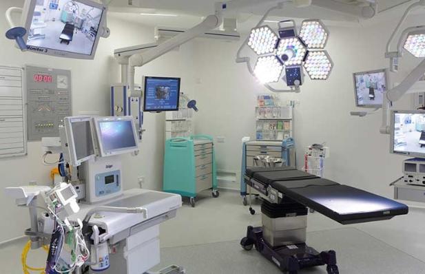 Sala de operaciones de un hospital - Errores médicos