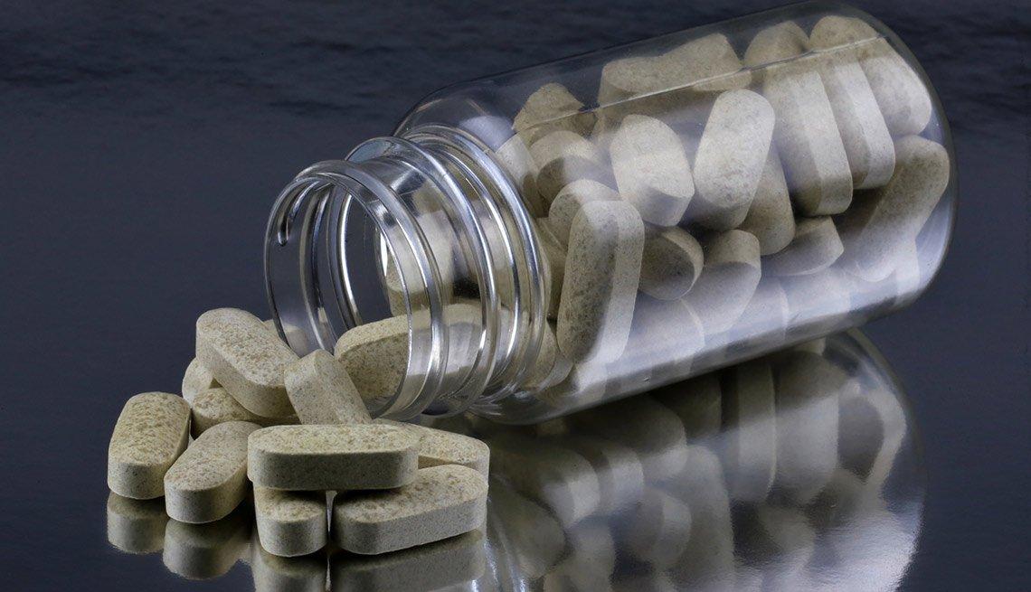 Frasco de pastillas