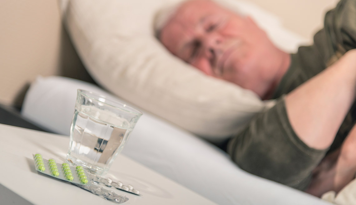 Insomnia and allergy medications can create problems with memory and decision-making