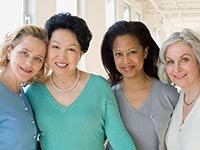 Grupo de mujeres - Exámenes preventivos solo para mujeres