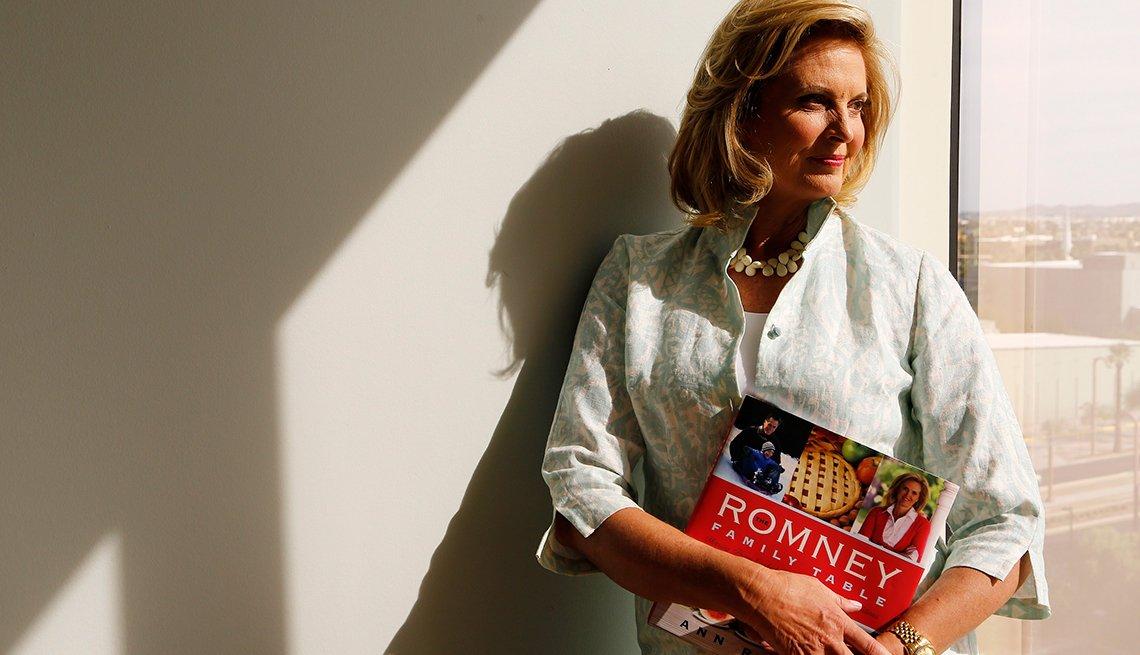 Ann Romney - Famosos que sobrevivieron al cáncer