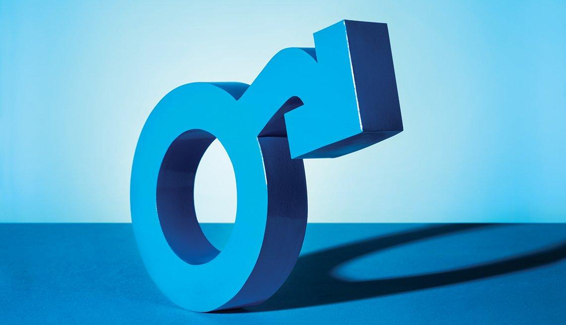 Símbolo masculino - Disfunción erectil