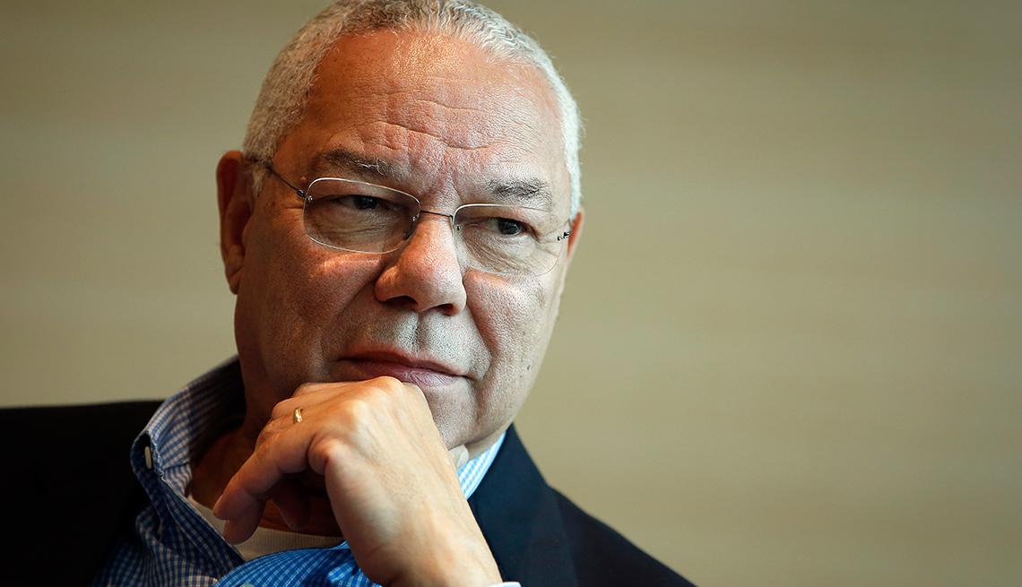 Colin Powell - Famosos que sobrevivieron al cáncer