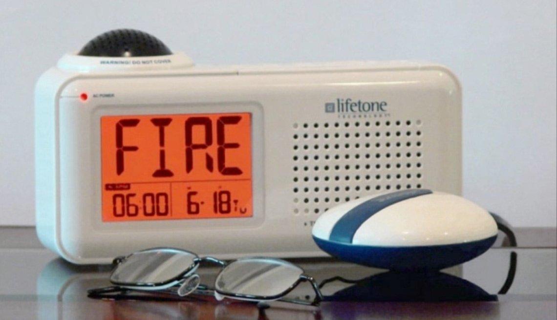 Alarma para personas con pérdida auditiva