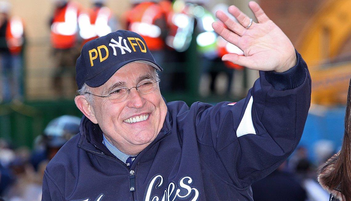 Rudy Giuliani - Famosos que sobrevivieron al cáncer
