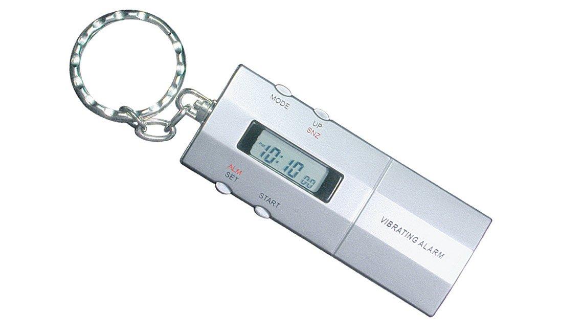 Alarma vibradora de llavero