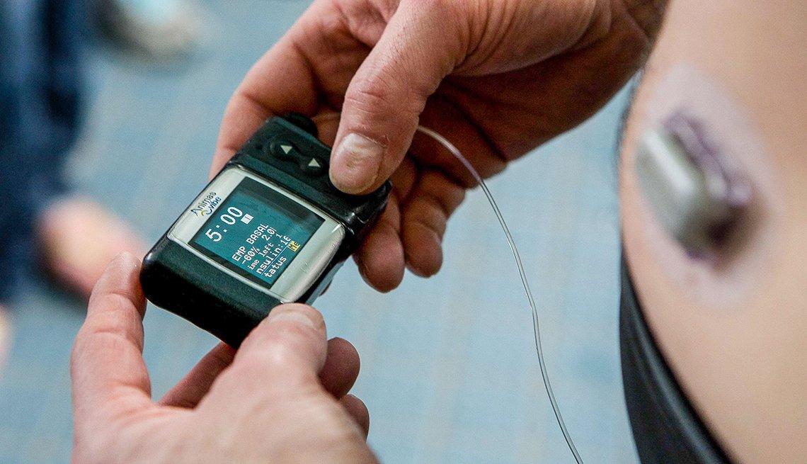 Monitoreo de glucosa en la sangre
